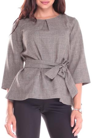 Блуза REBECCA TATTI. Цвет: бежевый, хаки