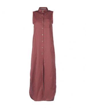 Длинное платье ..,MERCI. Цвет: пурпурный