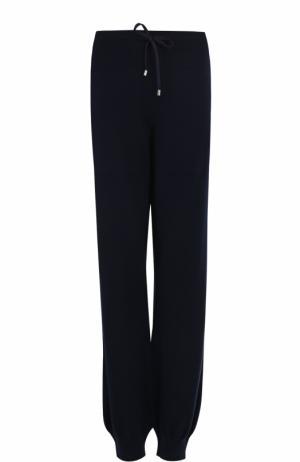 Кашемировые джоггеры с карманами Barrie. Цвет: темно-синий