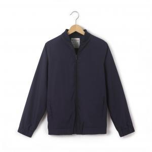 Куртка-бомбер на молнии, 10-16 лет R édition. Цвет: розовая пудра,синий морской
