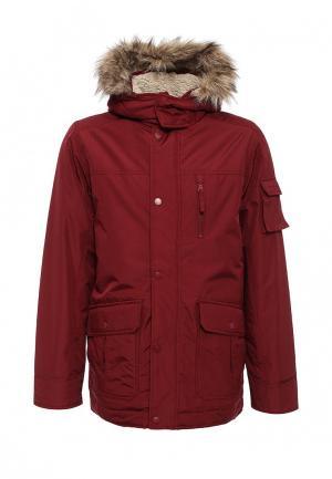 Куртка утепленная Befree. Цвет: бордовый