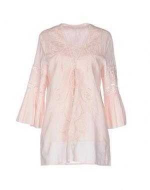 Блузка LIST. Цвет: светло-розовый