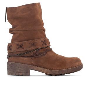 Ботинки кожаные Angus COOLWAY. Цвет: каштановый