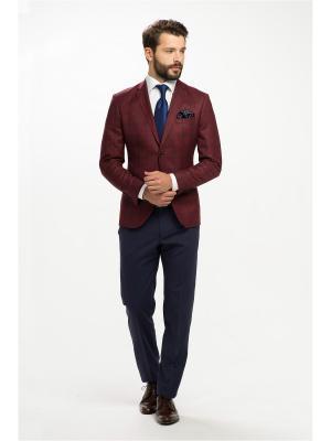 Пиджак Troy collezione. Цвет: бордовый