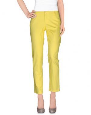 Повседневные брюки TWENTY-29. Цвет: желтый