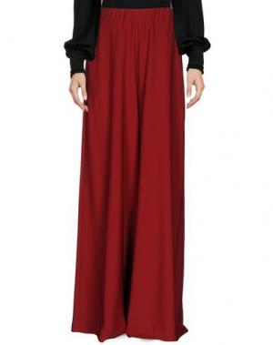 Повседневные брюки MAISON DIX. Цвет: красно-коричневый