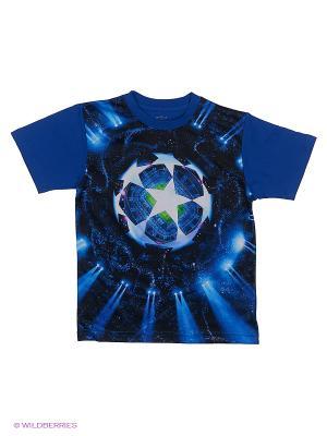 Футболка 3D Мое. Цвет: синий