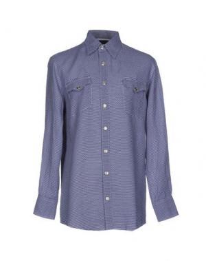 Pубашка BAD SPIRIT. Цвет: синий