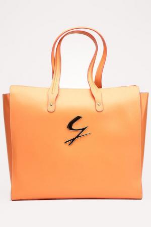 Сумка Gattinoni. Цвет: персиковый
