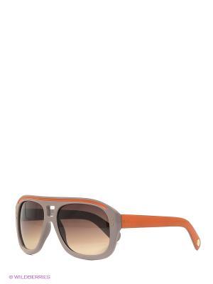 Солнцезащитные очки Vittorio Richi. Цвет: светло-коричневый, оранжевый