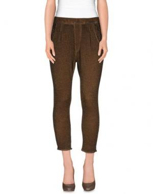 Повседневные брюки SWEET ROSEE. Цвет: хаки