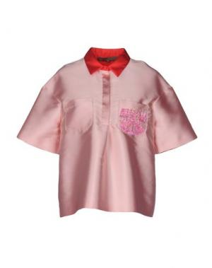 Блузка SPACE STYLE CONCEPT. Цвет: светло-розовый