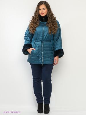 Куртка Sinta Via. Цвет: морская волна