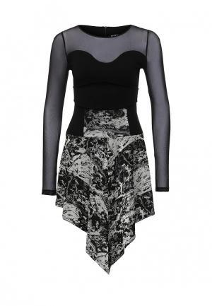 Платье Borodulins Borodulin's. Цвет: серый