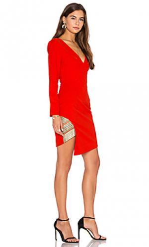 Платье с длинным рукавом between the lines Lumier. Цвет: оранжевый