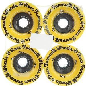 Колеса для скейтборда лонгборда  Race Yellow 78A 71 mm Sector 9. Цвет: желтый