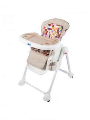 Стульчик для кормления Sweet Baby Luxor Multicolor Beige. Цвет: бежевый