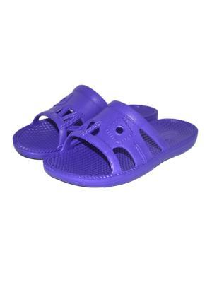 Шлепанцы ВаленкиОпт. Цвет: фиолетовый