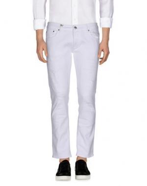 Джинсовые брюки DW⁵. Цвет: белый