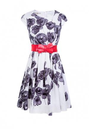 Платье LO. Цвет: белый