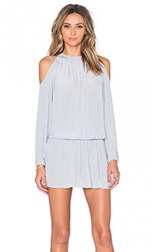 Платье lauren RAMY BROOK. Цвет: серый