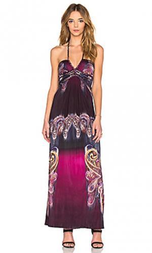 Платье ragny sky. Цвет: фиолетовый