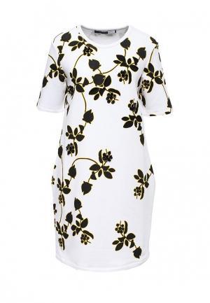 Платье Sportmax Code. Цвет: белый