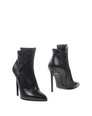 Полусапоги и высокие ботинки GIBELLIERI. Цвет: свинцово-серый