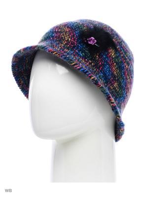 Шляпа Попугайчик ТТ. Цвет: синий, малиновый