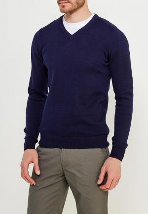 Пуловер Marks & Spencer. Цвет: синий