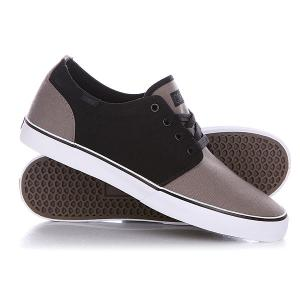 Кеды кроссовки низкие  Drf Bkgy Black/Gray Circa. Цвет: черный,серый