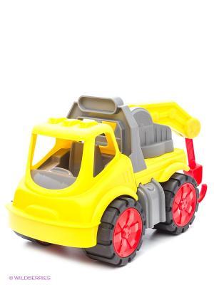 Эвакуатор Big Power Worker, 37*20*23см, 1/4. Цвет: желтый