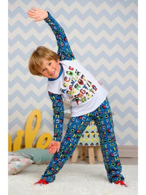 Пижама KitFox. Цвет: синий