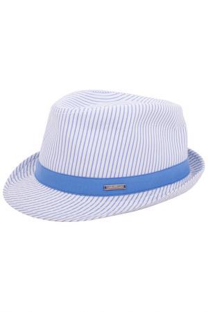 Шляпа Gulliver. Цвет: белый, голубой (big)