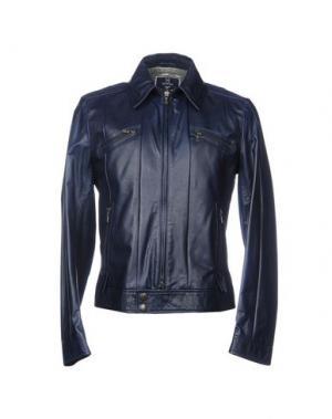 Куртка HARRY & SONS. Цвет: темно-синий