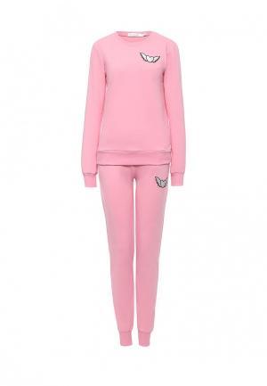 Костюм спортивный Grand Style. Цвет: розовый