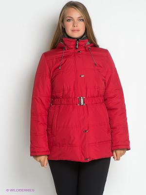 Куртка IRINA Maritta. Цвет: красный