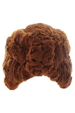 Каракулевая шапка «Чалма» Color Temperature. Цвет: коричневый