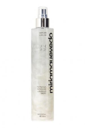 Бриллиантовый спрей для волос Platinum&Diamonds Luxurious Drops 250ml Miriamquevedo. Цвет: multicolor