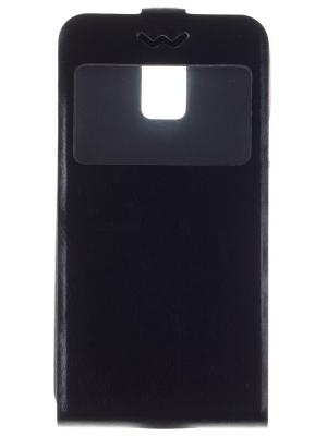 Флип-чехол Slim AW skinBOX Samsung Galaxy S5.. Цвет: черный