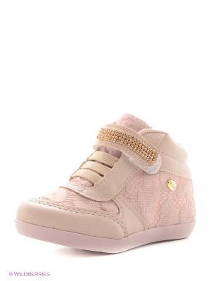 Ботинки Klin. Цвет: бледно-розовый