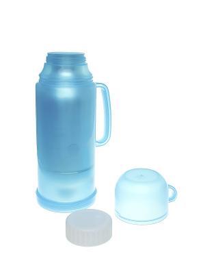 Термос с кружкой, 0,5 л Migura. Цвет: голубой