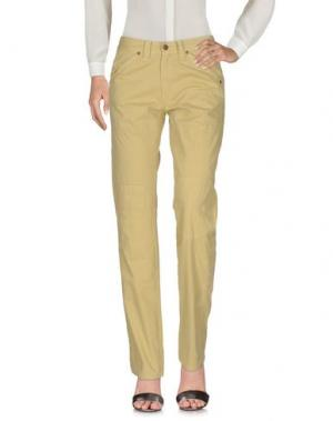 Повседневные брюки JAGGY. Цвет: зеленый-милитари