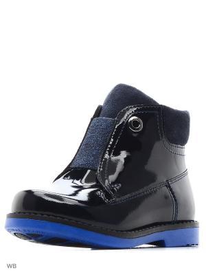 Ботинки San Marko. Цвет: черный, синий