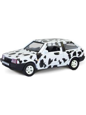 Машина LADA 2108 долматин AUTOTIME. Цвет: белый