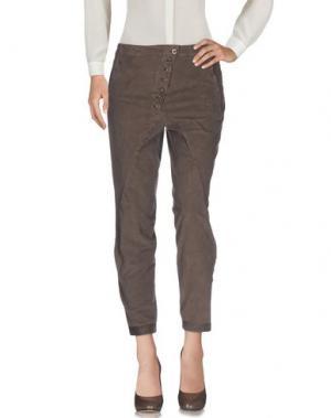 Повседневные брюки LE CASUAL DE MARITHÉ + FRANÇOIS GIRBAUD. Цвет: хаки
