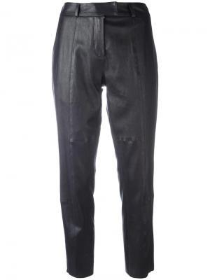 Укороченные брюки Inès & Maréchal. Цвет: чёрный