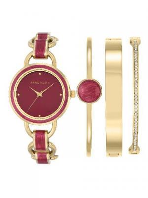 Часы ANNE KLEIN. Цвет: розовый