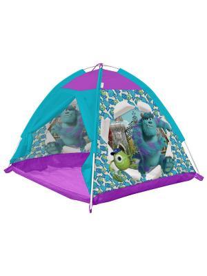 Палатка 112*112*84 Университет Монстров FRESH-TREND. Цвет: голубой, фиолетовый