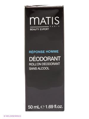 Шариковый дезодорант, 50 мл Matis. Цвет: коричневый